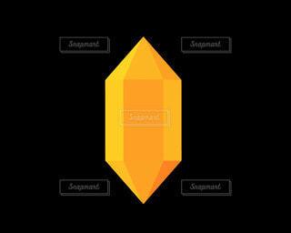 オレンジのクリスタルの写真・画像素材[4786041]