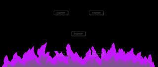 紫の黒炎のラインの写真・画像素材[4872649]