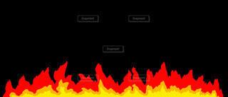 炎のラインの写真・画像素材[4872651]