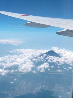 空の旅の写真・画像素材[4206235]