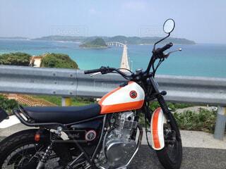ツーリング in角島の写真・画像素材[4212666]