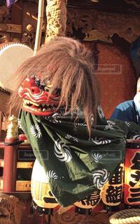 獅子舞の写真・画像素材[4210864]