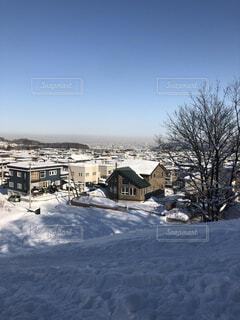 雪遊びの写真・画像素材[4212259]