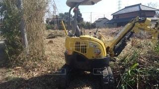 除草や雑木伐採の風景の写真・画像素材[4212765]