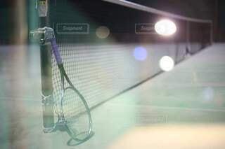テニスの合間の撮影の写真・画像素材[4808889]