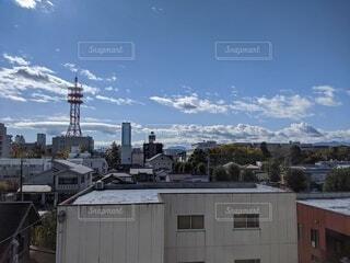 都市の高い建物の写真・画像素材[4225356]