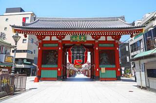 浅草寺の雷門の写真・画像素材[4396981]