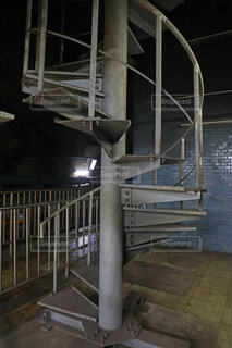 螺旋階段の写真・画像素材[4695020]