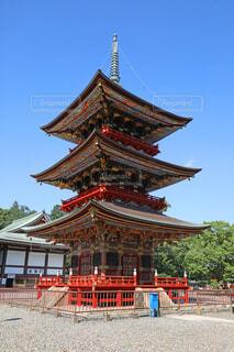 成田山新勝寺の三重塔の写真・画像素材[4769862]