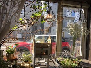 窓の外のイギリスの写真・画像素材[4217011]