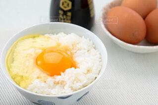 卵かけご飯の写真・画像素材[4232236]