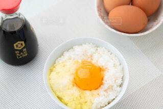 卵かけご飯の写真・画像素材[4232241]