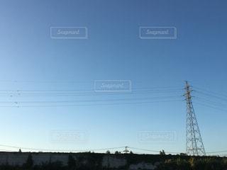 空と鉄塔の写真・画像素材[772312]