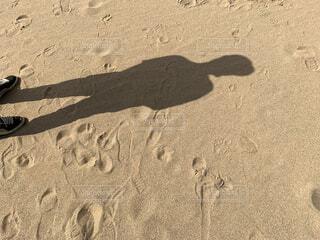 砂漠の影の写真・画像素材[4321268]