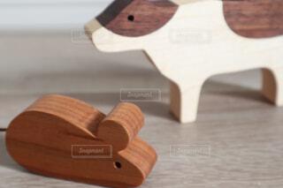 木製のまな板の写真・画像素材[4272164]