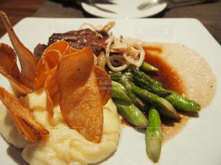 食べ物の皿の写真・画像素材[4272282]
