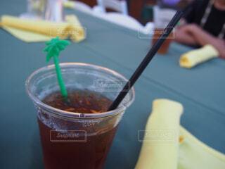 飲み物のクローズアップの写真・画像素材[4272298]
