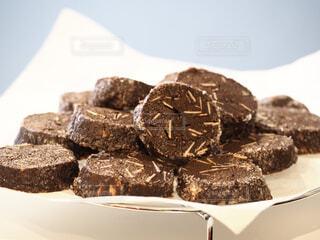 ココアクッキーの写真・画像素材[4239559]