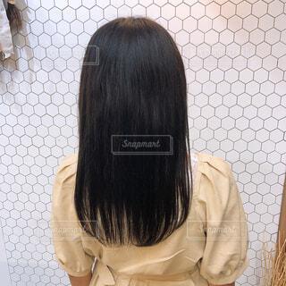 黒髪ロングの写真・画像素材[4251956]