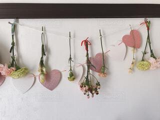 もらった花束をドライフラワーにの写真・画像素材[4251970]