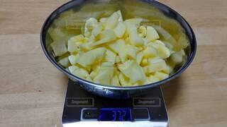 りんごジャム作りの写真・画像素材[4256185]