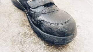 靴の擦り傷の写真・画像素材[4259715]