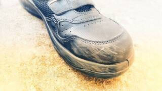 靴の擦り傷2の写真・画像素材[4259716]