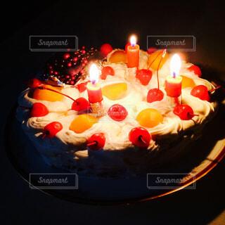 happy cakeの写真・画像素材[4260486]