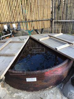 五右衛門風呂の写真・画像素材[846309]