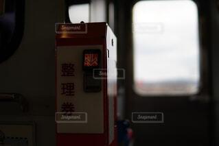 電車の中の風景の写真・画像素材[4263565]