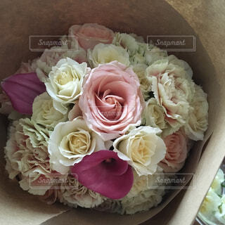 花束のクローズアップの写真・画像素材[4268927]