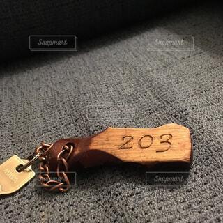ホテルの鍵の写真・画像素材[4268931]