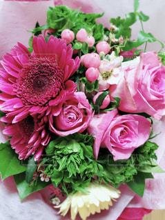 ピンクの花束の写真・画像素材[1614864]