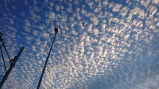 もこもこ空の写真・画像素材[4281294]