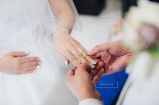 結婚指輪の写真・画像素材[4541860]