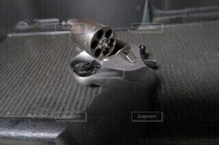銃のクローズアップの写真・画像素材[4308171]