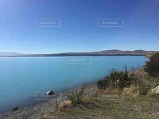 プカキ湖の写真・画像素材[2073445]