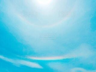 虹の道の写真・画像素材[4396413]