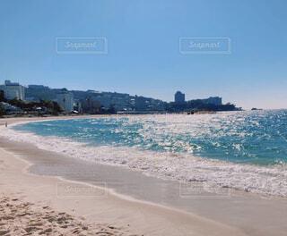 空と海と砂浜の写真・画像素材[4373697]