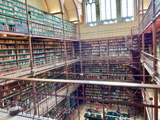 魔法図書館、アムステルダム国立美術館の写真・画像素材[4313930]
