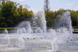 噴水の写真・画像素材[4329140]
