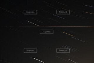 星の軌道の写真・画像素材[4321093]