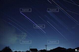 筑前町の夜空の写真・画像素材[4321751]