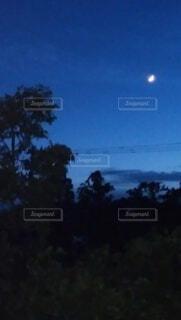 初夏の日暮れの写真・画像素材[4322943]