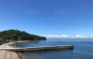夏休みの田舎の漁港の写真・画像素材[4684989]