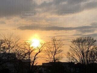 キレイな夕暮れの写真・画像素材[4685010]
