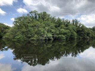 雄大な「水辺の風景」の写真・画像素材[4754211]