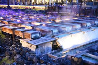 草津温泉の湯畑の写真・画像素材[4334134]
