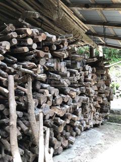 薪の写真・画像素材[4356627]
