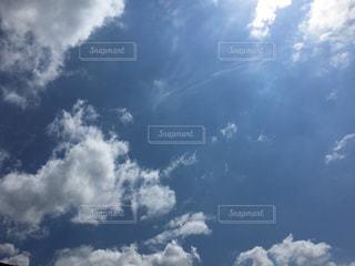 そら ソラ 青空 澄み渡る青空 すみわたる青空 澄み渡る空 すみわたる空 きれいな青空 青空背景 あおぞら あおぞらの背景 青空の背景 青空の写真 あおそら写真 あおぞらの写真 空 白い雲 入道雲 積乱雲 夏 背景 夏雲 夏空 ブルースカイ スカイ sky 自然 風景 背景 雲の写真・画像素材[197807]